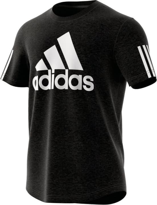 M Sport ID Logo Tee T-shirt da uomo Adidas 462391400620 Colore nero Taglie XL N. figura 1