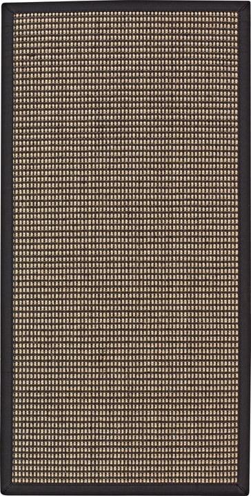 PANAMA Teppich 412002006584 Farbe anthrazit Grösse B: 65.0 cm x T: 130.0 cm x H:  Bild Nr. 1