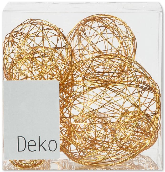 Bocce in filo decorative, 10 pz. Do it + Garden 655864800000 Colore Arancione Taglio L: 10.0 cm x P: 10.0 cm x A: 10.0 cm N. figura 1