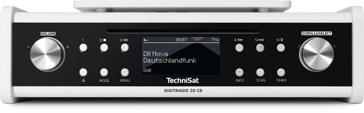 DigitRadio 20 CD - Weiss Radio DAB+ Technisat 785300139510 Photo no. 1