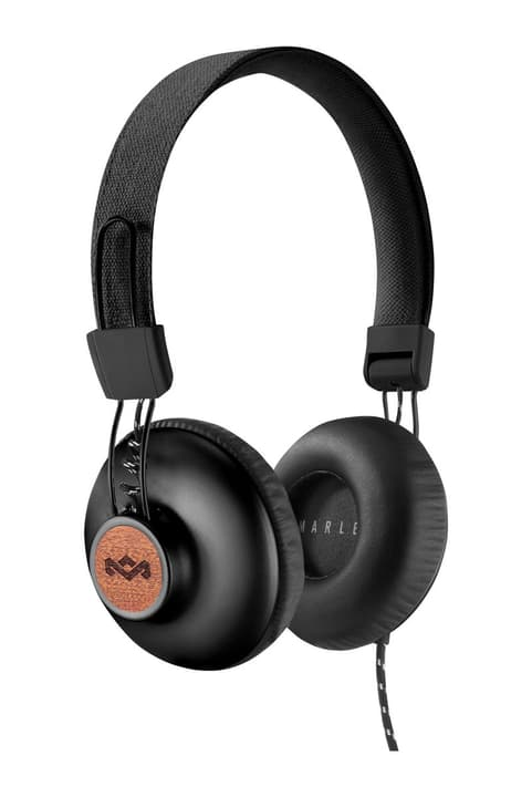 Positive Vibration 2.0 - Signature Black Cuffie On-Ear House of Marley 785300132123 N. figura 1