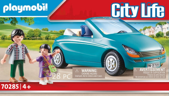 Papa avec enfant cab 70285 Playmobil 748027000000 Photo no. 1