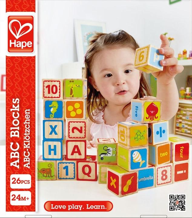 Hape Cubes Alphabet 747326900000 Photo no. 1