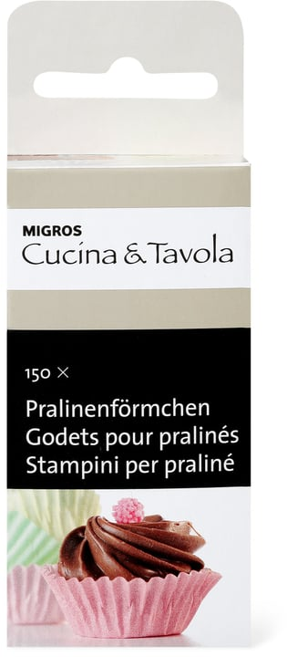 Pralinenförmchen Cucina & Tavola 703907600000 Bild Nr. 1