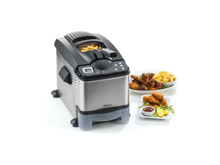 Fritteuse avec filtre à huile, argent Koenig 785300129843 N. figura 1