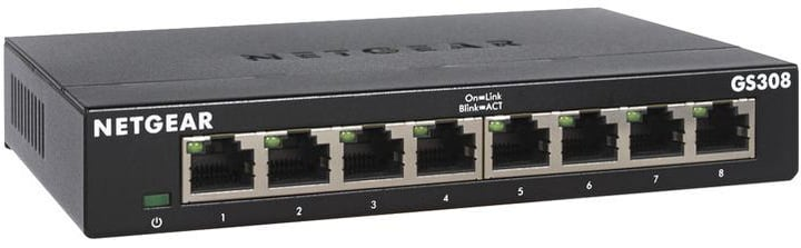 8 Port Switch GS308v3 Switch Netgear 785300144784 N. figura 1