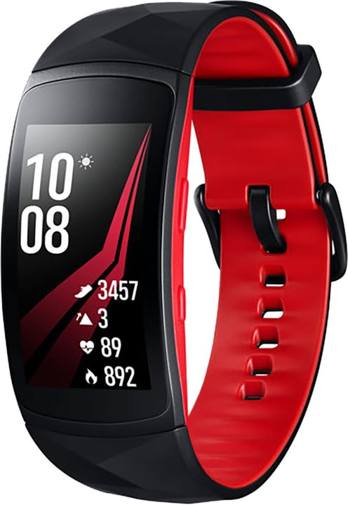 Gear Fit2 Pro Red Large Samsung 798415300000 Bild Nr. 1