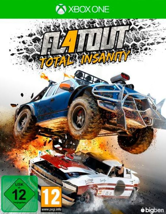 Xbox One - Flatout: Total Insanity Box 785300121647 N. figura 1