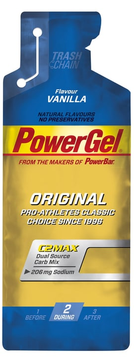 Gel 41 g Powerbar 491976910000 Goût Vanille Extra Natrium Photo no. 1