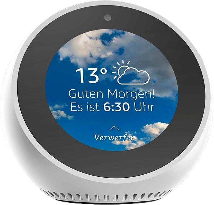 Echo Spot - Blanc Smart Speaker Amazon 785300143221 Photo no. 1
