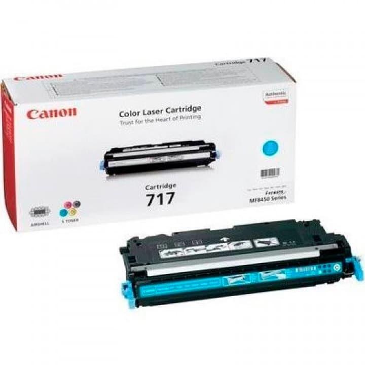 2577B002 Toner 717 cyan Canon 785300123912 N. figura 1