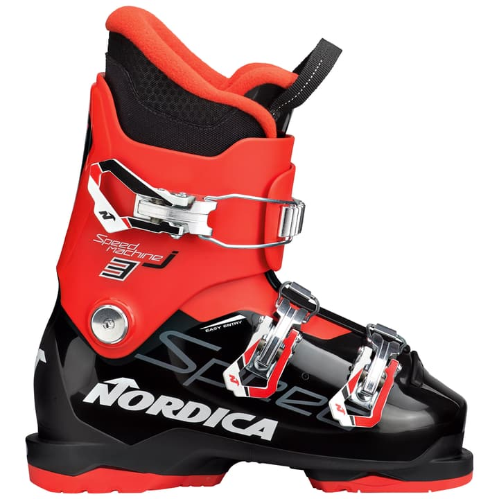 Speedmachine J 3 Kinder-Skischuh Nordica 495311024520 Farbe schwarz Grösse 24.5 Bild-Nr. 1
