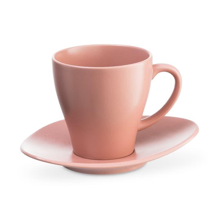 CUBA Kaffeetase 20cl inkl. Unterteller ASA 393219702038 Dimensions L: 8.5 cm x P: 8.5 cm x H: 9.0 cm Couleur Rose Photo no. 1