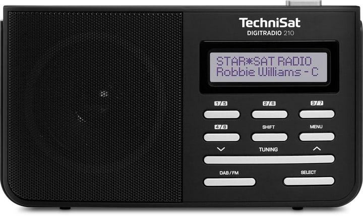 TechniRadio 210 - Noir/Argent Radio DAB+ Technisat 785300139501 Photo no. 1