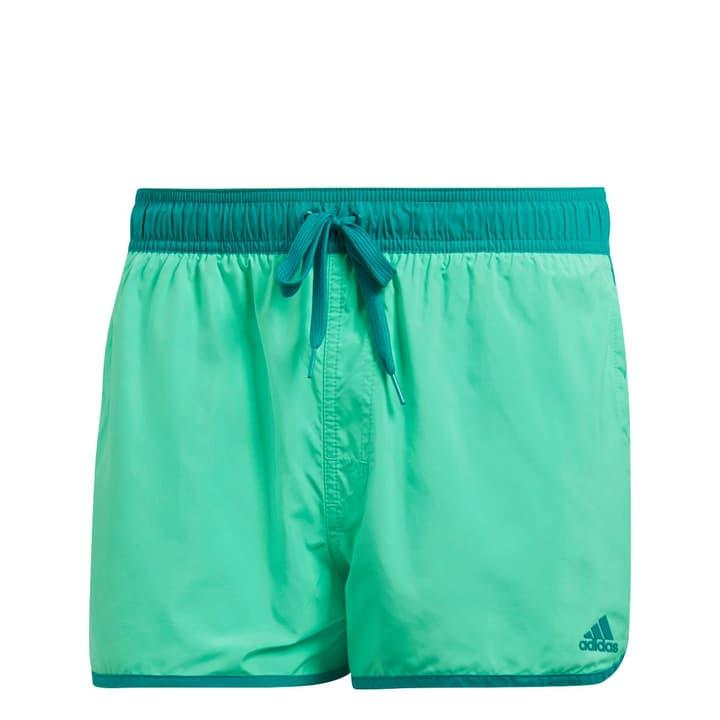 split short Short de bain pour homme Adidas 463102600315 Couleur émeraude Taille S Photo no. 1