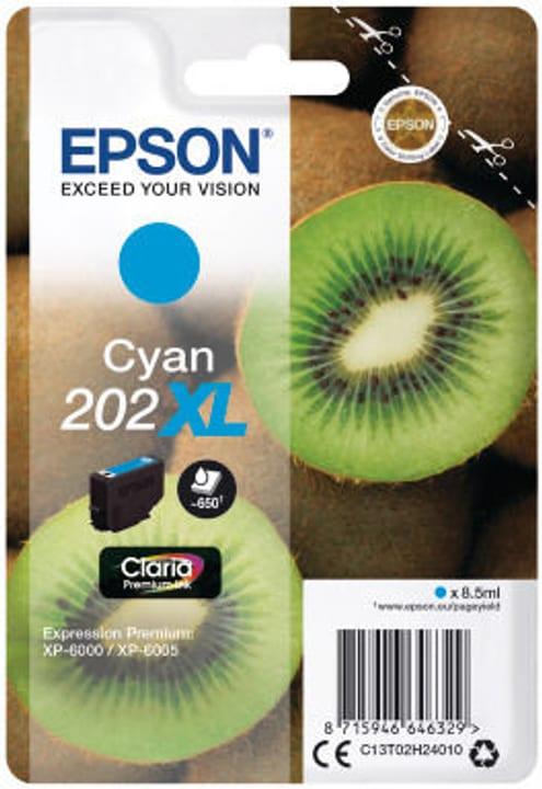 Epson cartouche d'encre 202XL cyan Cartouche d'encre Epson 798549400000 Photo no. 1