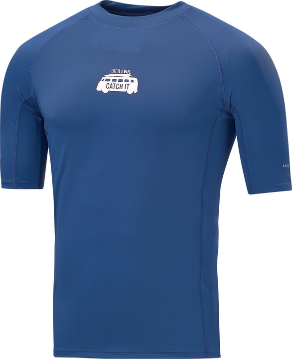 Shirt UVP pour homme MC Shirt UVP pour homme MC Extend 462199300322 Couleur bleu foncé Taille S Photo no. 1