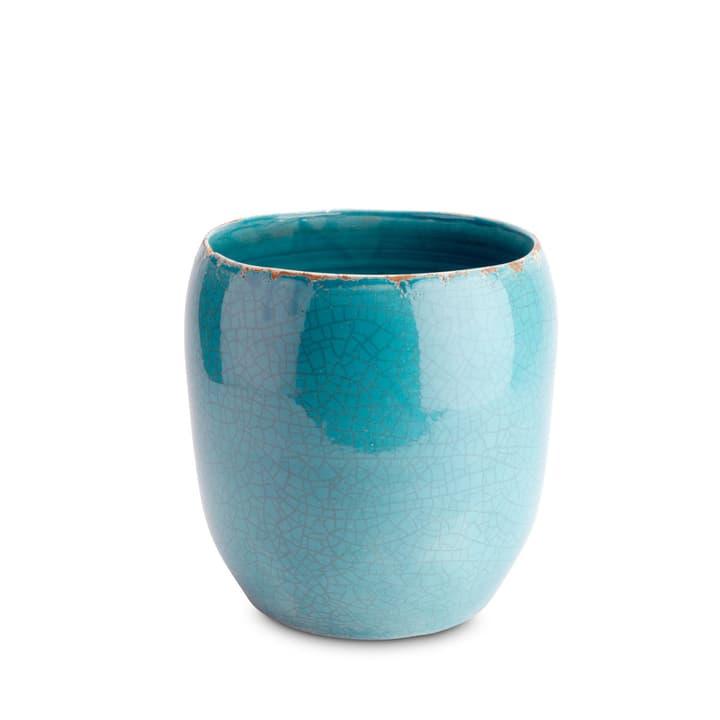 DAWA Cache-pot 382010500000 Dimensions L: 36.0 cm x P: 36.0 cm x H: 36.0 cm Couleur Turquoise Photo no. 1