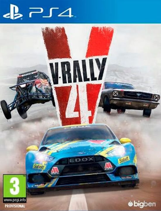 PS4 - V-Rally 4 Box 785300137665 Photo no. 1