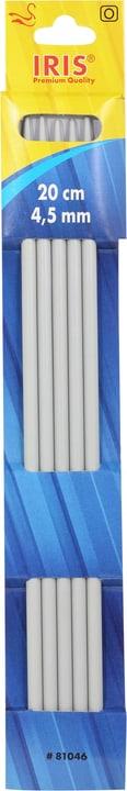 Aiguilles à tricoter 20cm - 4.5mm Iris 665462200070 Taille L: 20.0 cm x L: 4.5 mm x P:  x H:  Photo no. 1
