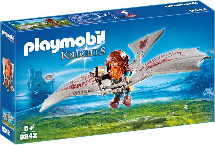 Playmobil Guerriero con deltaplano da attacco 746093800000 N. figura 1