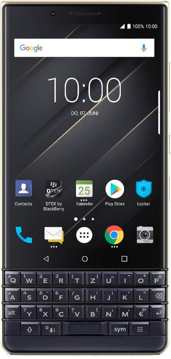 KEY2 LE Dual SIM 64GB Champagne Smartphone BlackBerry 785300139693 Photo no. 1