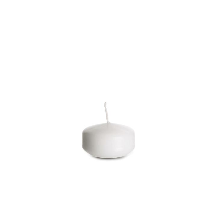 ALAN Bougie flottante 396030400000 Couleur Blanc Dimensions L: 5.0 cm x P: 5.0 cm x H: 2.5 cm Photo no. 1