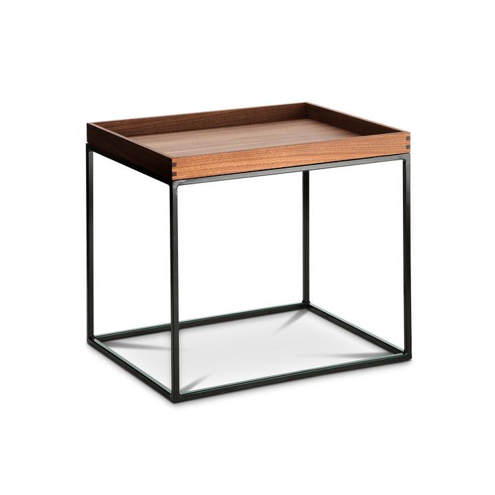 COFFEE table d'appoint 360975100000 Dimensioni L: 40.0 cm x P: 50.0 cm x A: 44.0 cm Colore Noce N. figura 1