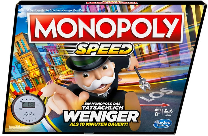 Speed Monopoly (DE) 748986090000 Photo no. 1