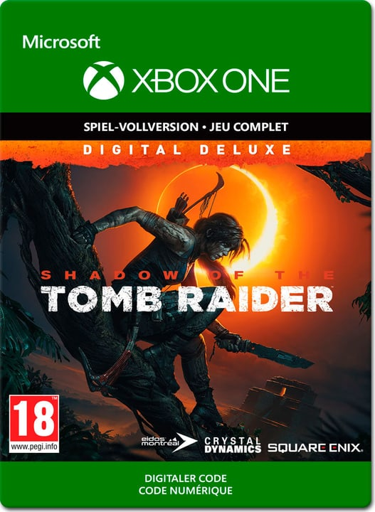 Xbox One - Shadow of the Tomb Raider Deluxe Edition Download (ESD) 785300140337 Photo no. 1