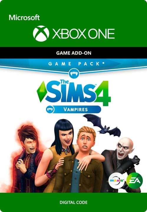 Xbox One - The SIMS 4: Vampires Digitale (ESD) 785300136286 N. figura 1