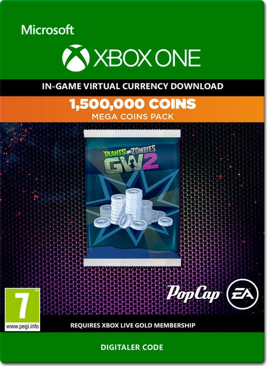Xbox One - Plants vs. Zombies Garden Warfare 2: 1,500,000 Coins Download (ESD) 785300138645 Photo no. 1