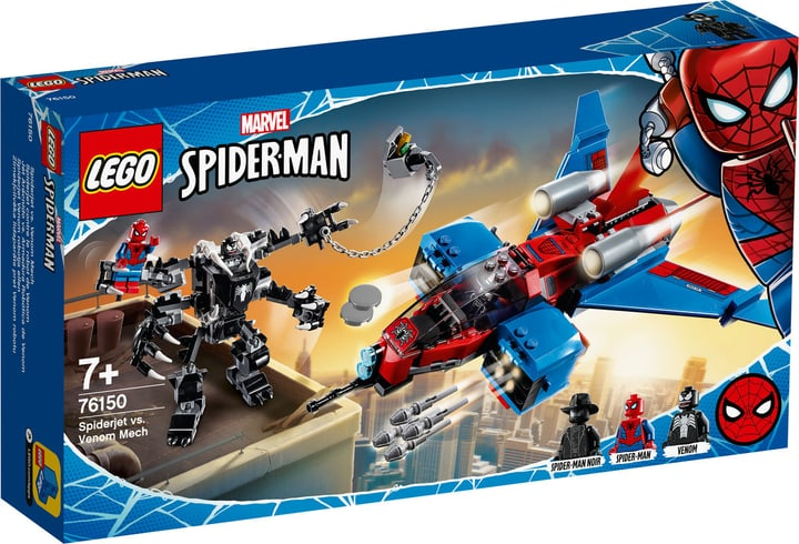 LEGO Marvel 76150 Spiderjet vs. Venom Mech 748739700000 Photo no. 1