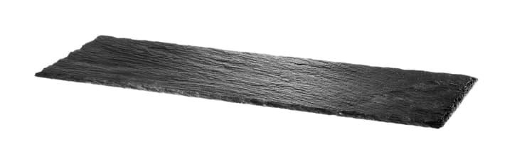 NERO Schieferplatte 440601000600 Farbe Schwarz Grösse B: 45.0 cm x T: 15.0 cm x H: 0.5 cm Bild Nr. 1
