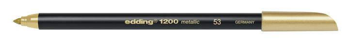 edding Fasermaler 1200 Metallic Edding 665509900010 Farbe Gold Bild Nr. 1