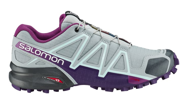 Speedcross 4 Damen-Runningschuh Salomon 461669337081 Farbe Hellgrau Grösse 37 Bild-Nr. 1