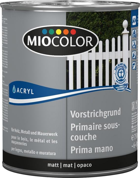Primaire sous-couche acrylique Blanc 750 ml Miocolor 660562300000 Couleur Blanc Contenu 750.0 ml Photo no. 1