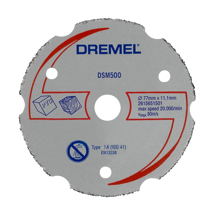 Disque à tronçonner en carbure DSM500 Dremel 616087100000 Photo no. 1