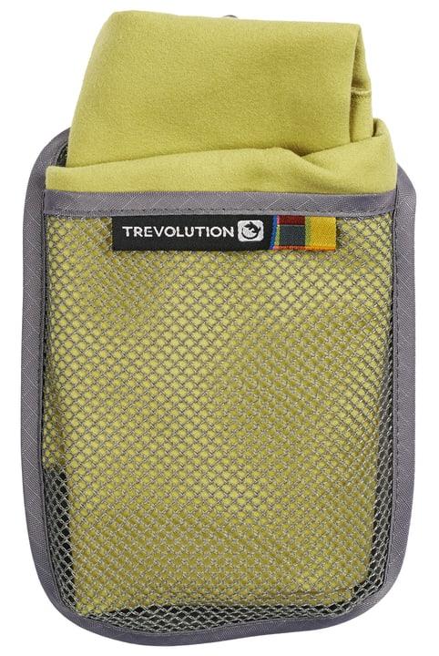 S: 35x75 cm Serviette en fibre extrafine Trevolution 491281700360 Couleur vert Taille S Photo no. 1