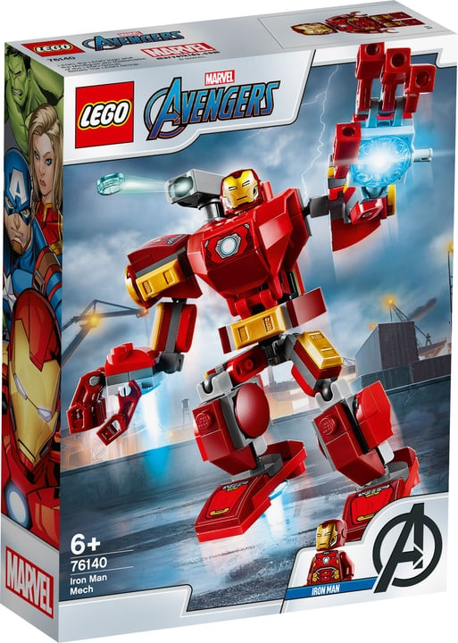 LEGO Marvel 76140 Avengers Iron Man 748739100000 Photo no. 1