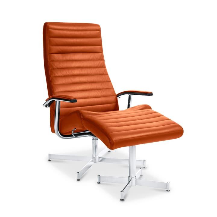 HARVEY Relax-Sessel mit Hocker 360002293212 Grösse B: 64.0 cm x T: 74.0 cm x H: 105.0 cm Farbe Hellbraun Bild Nr. 1