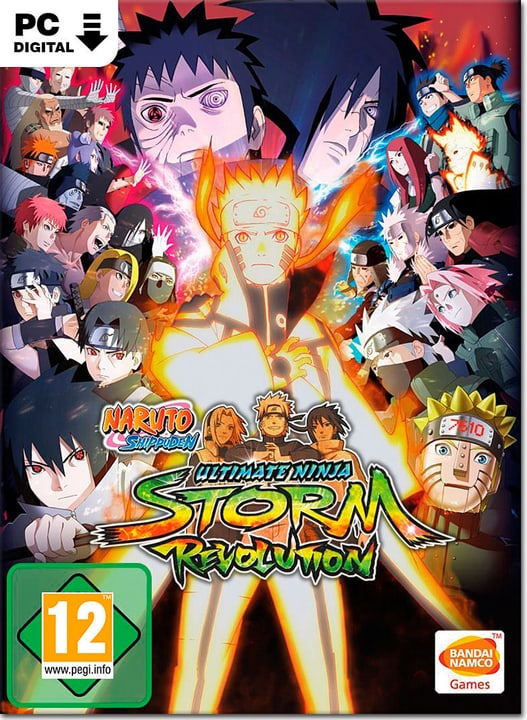 PC - Naruto Shippuden: Ultimate Ninja Storm Revolution - D/F/I Download (ESD) 785300134363 N. figura 1