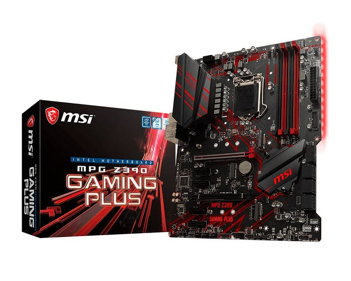 MPG Z390 GAMING PLUS Mainboard MSI 785300139913 N. figura 1