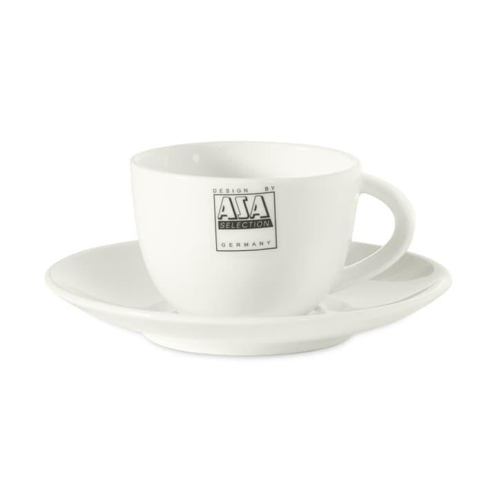 A TABLE Tazzina da espresso con piattino ASA 393003137535 Dimensioni L: 6.0 cm x P: 6.0 cm x A: 4.5 cm Colore Bianco N. figura 1