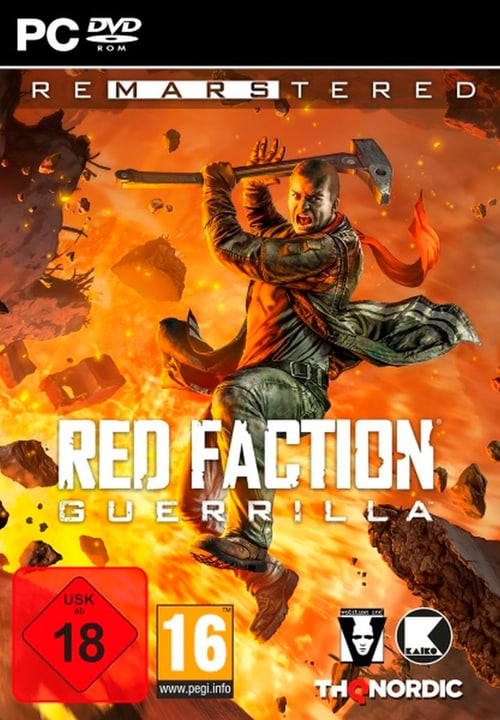 PC - Red Faction Guerrilla Re-Mars-tered (D) Box 785300135445 N. figura 1