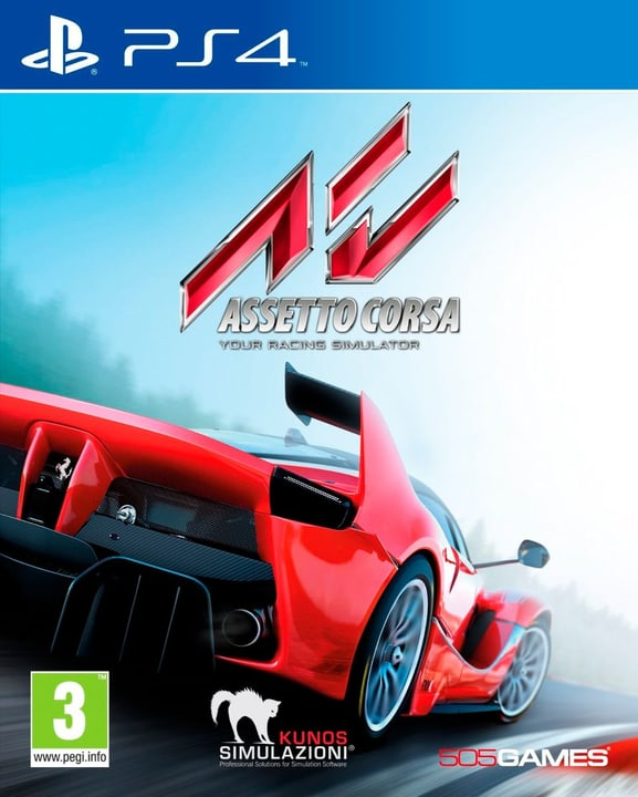 PS4 - Assetto Corsa - Racing Simulator Fisico (Box) 785300121661 N. figura 1