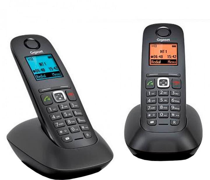 A540 Duo schwarz Festnetz Telefon Gigaset 785300133466 Bild Nr. 1