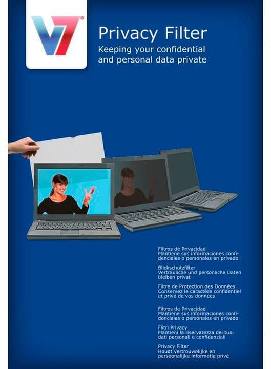 """Display Privacy Filter 19"""" Filtro di protezione V7 785300150387 N. figura 1"""