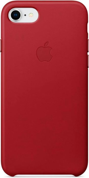 iPhone 8/7 Leather Case Rouge Coque Apple 785300130142 Photo no. 1