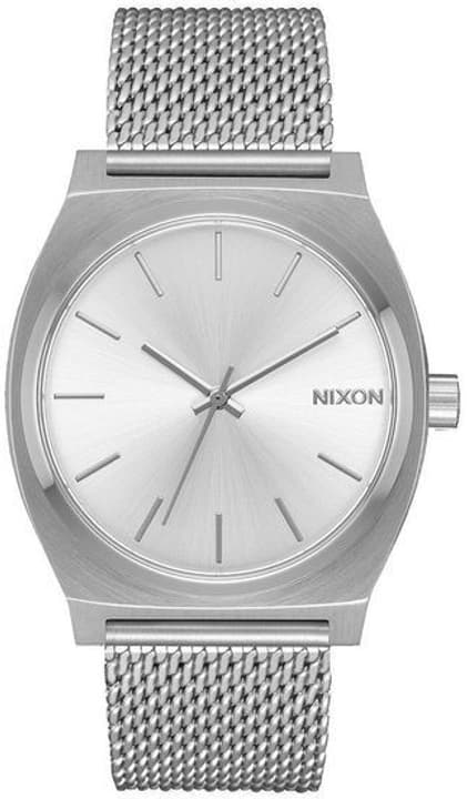 Time Teller Milanese All Silver 37 mm Montre bracelet Nixon 785300136988 Photo no. 1